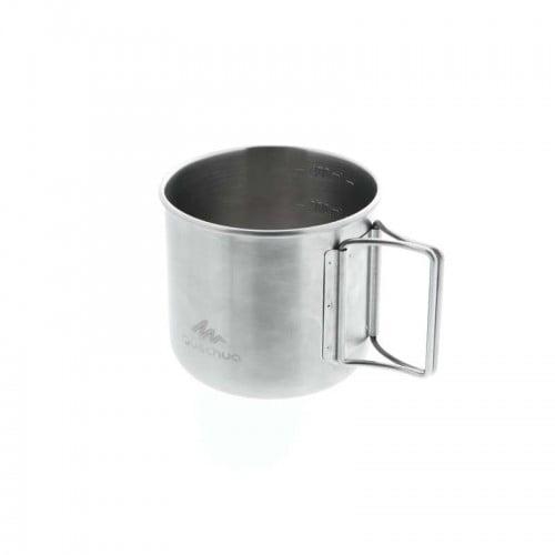 Чашка нержавеющая для походного кемпинга MH150 QUECHUA