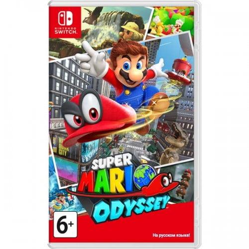 Игра Nintendo Switch Super Mario Odyssey