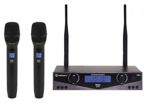 Радиомикрофоны RADIOWAVE UHM-802